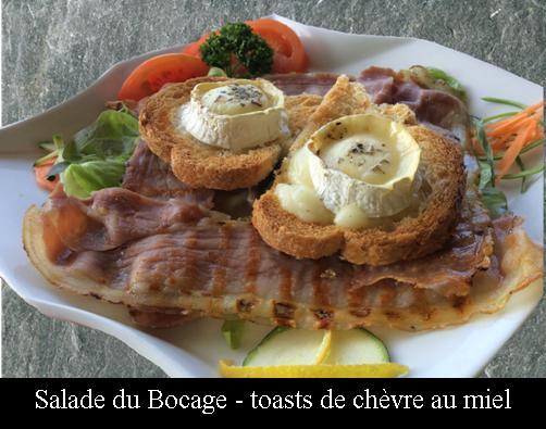 salade-du-bocage-aux-toasts-de-chèvre-au-miel